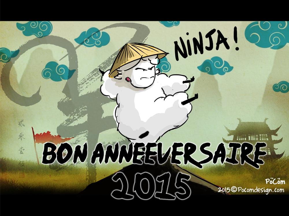 Bonne annéversaire 2015